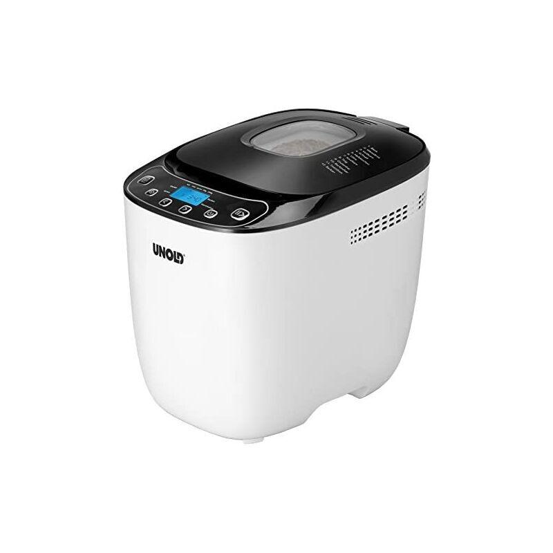 Unold BACKMEISTER 68010 - Machine à pain (1 kg), couleur white et noir - Unold