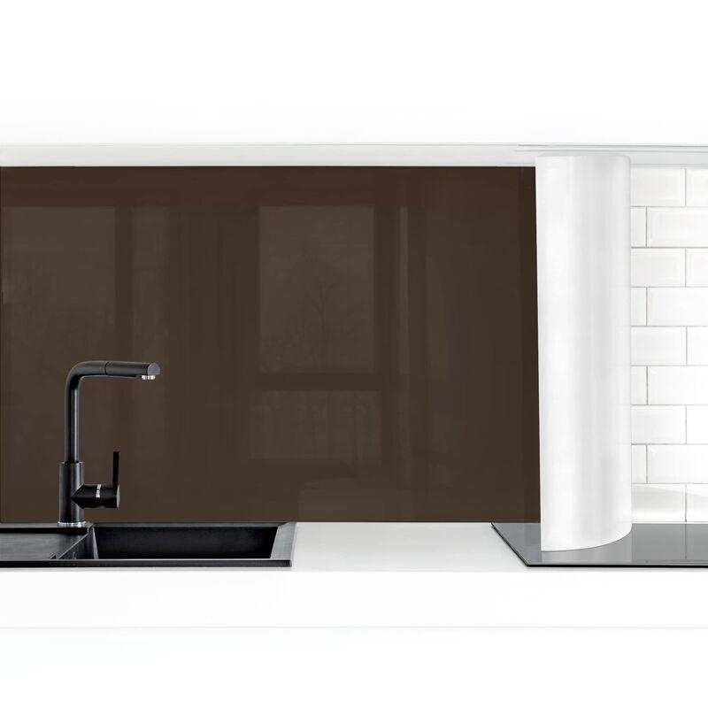 Bilderwelten Crédence adhésive - Cacao Dimension HxL: 100cm x 200cm Matériel: Premium