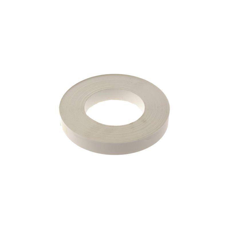 NORDLINGER Chant mélaminé blanc pré-encollé - 100m x larg.23mm - lisse melafix - 075462 - Nordlinger