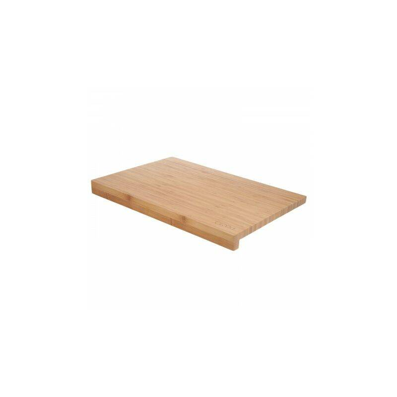 ORYX Table coupe cuisine fabriquée en madera bambu 100% avec bordure 46x30,5 cm.table couper,viande poisson,légumes,fruits,aliments