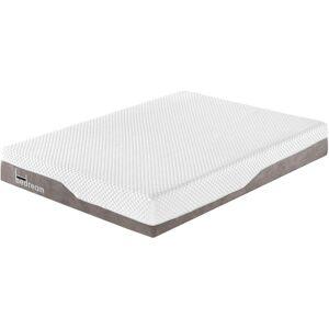 Cotecosy - Matelas mousse avec mémoire de forme Bedream Premium 180x200cm - Blanc / Taupe - Publicité