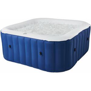 MSPA Spa gonflable carré 185cm LITE - 6 places - Bleu - Mspa - Publicité