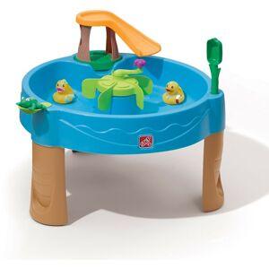 Step2 Duckpond Table d'eau pour Enfants   Table de Jeu Enfant à Eau avec Kit d'Accessoires de 6 Pièces   Table d'activité / Jouet pour Le Jardin - Step2 - Publicité