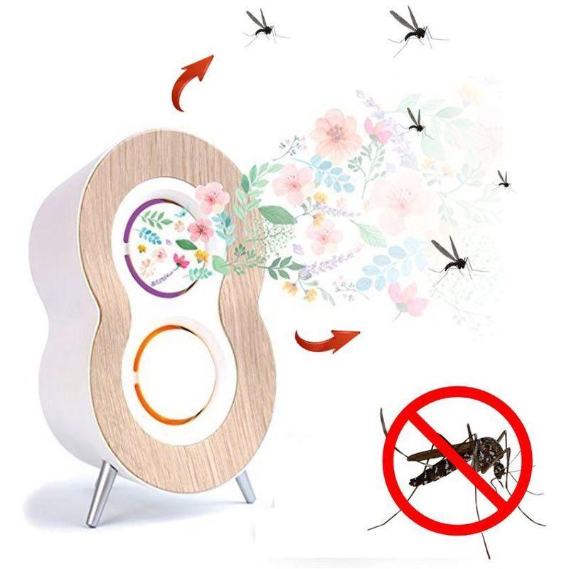 AROMACARE Anti moustique naturel diffuseur d'huiles essentielles - Blanc