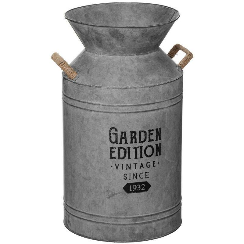 ATMOSPHERA Pot à Lait décoratif en Zinc H 48 cm - Atmosphera