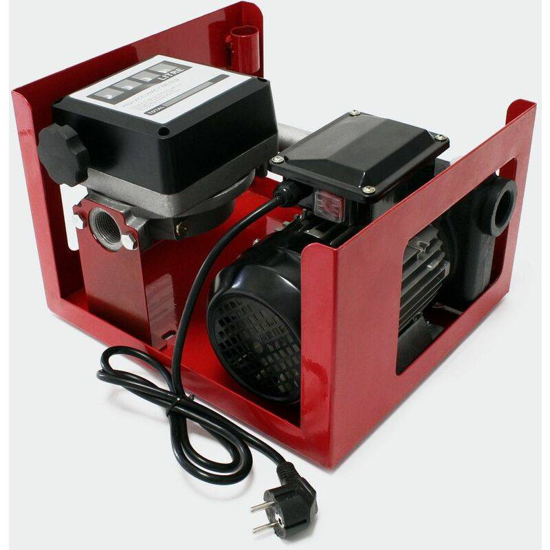 Mercatoxl - MercartoXL auto-amorçage 230V / 750W 80l / min pistolet pompe à huile de la pompe Bio diesel