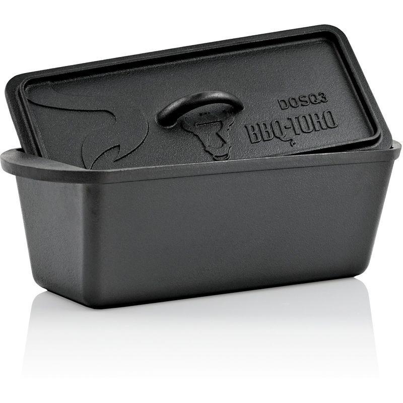 BBQ-TORO Dutch Oven Pot de cuisson   3,0 litres   Marmite en fonte - Bbq-toro