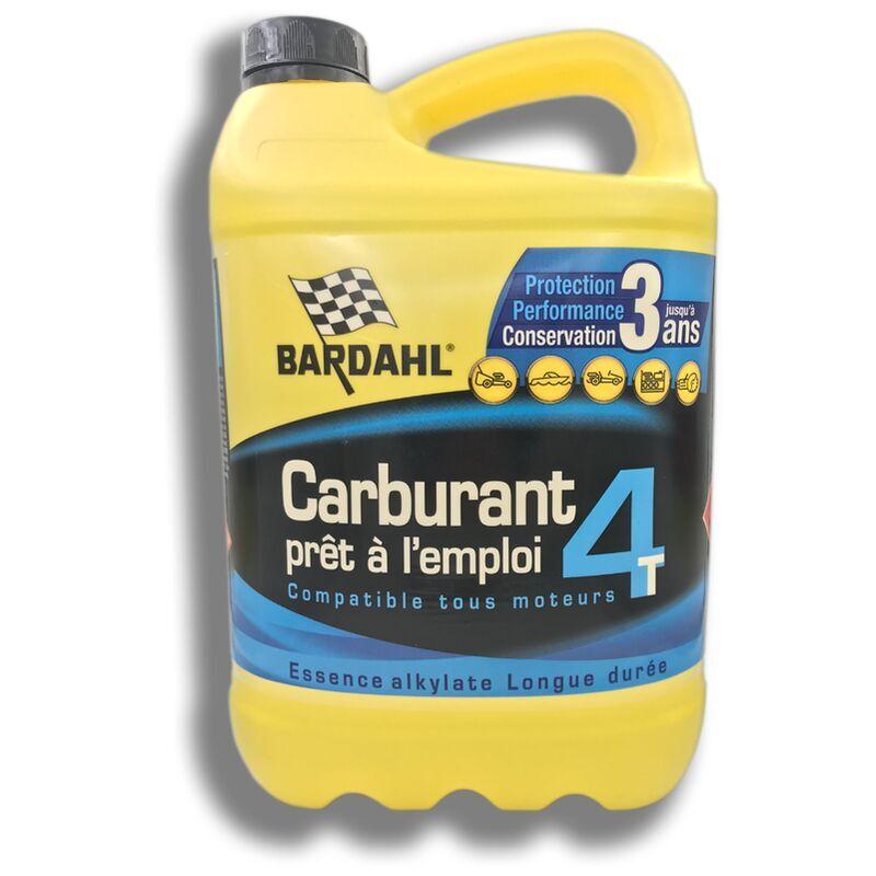 BARDAHL Carburant prêt à l'emploi 4 Temps Bardahl 5L Compatible tous moteurs