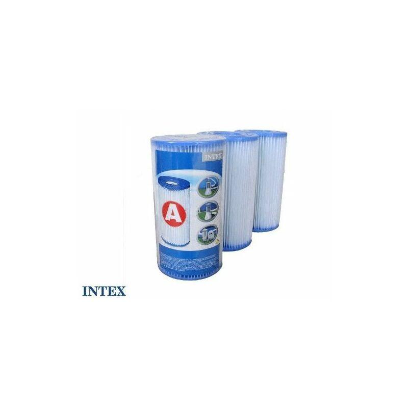 Intex Cartouche de filtration pour piscine - Lot de 3 - type A Livraison gratuite - Intex