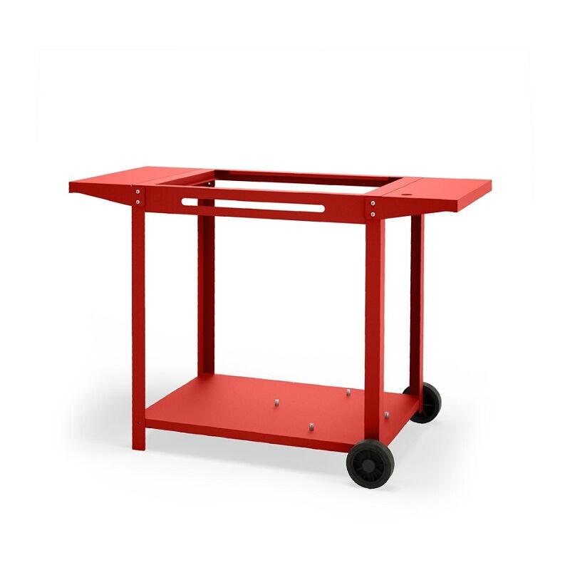 LE MARQUIER Chariot Rouge Basque pour plancha 60cm Adela 2 - Rouge Basque - Le Marquier
