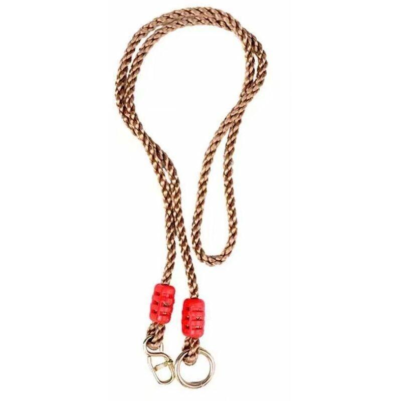 ILOVEMILAN Complément de Cordage en Chanvre Artificiel 0, 95m balançoire produit unique Courroie de raccordement de la corde de réglage Réglage de la branche