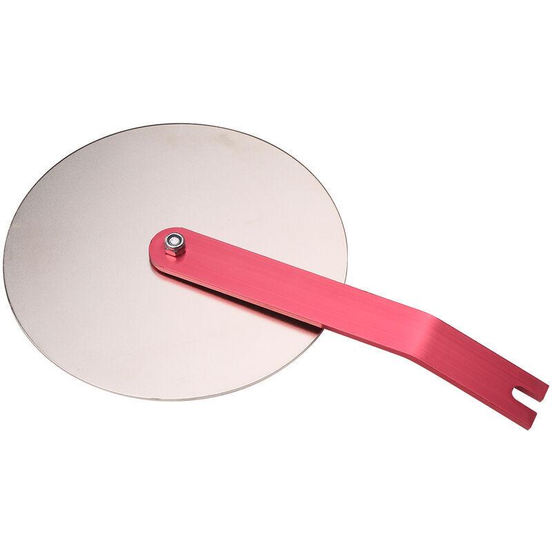 HAPPYSHOPPING Outil accessoire de Guide de pulverisation pour pulverisateur de peinture sans air deflecteur anti-eclaboussures accessoire d'alimentation de