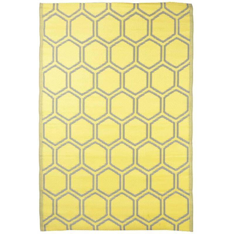 ROGAL Esschert design tapis d'extérieur 182x122 cm nid d'abeilles - Rogal