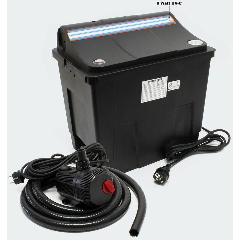 Helloshop26 - Filtre bio système de filtration complet UV + Pompe