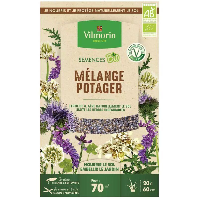 VILMORIN Graines Mélange Potager Bio , boite de 250 grs