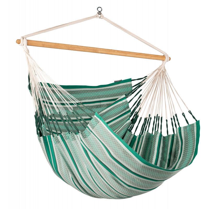 La Siesta - Habana Agave - Chaise-hamac Kingsize en coton bio - Vert