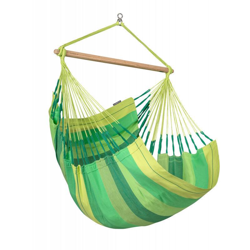 La Siesta - Habana Jungle - Chaise-hamac Comfort en coton bio - Vert