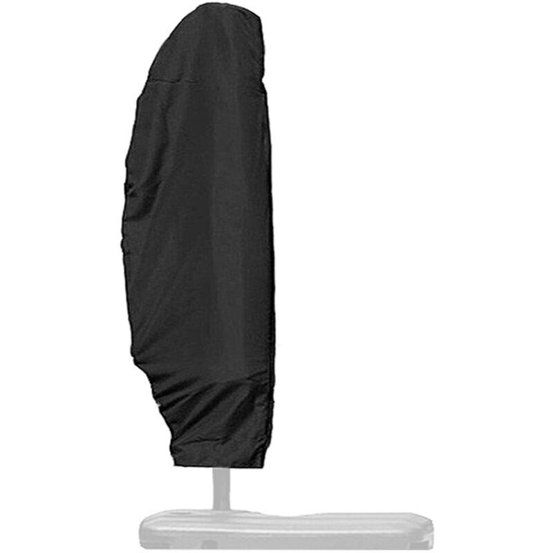 ASUPERMALL Housse De Parapluie D'Exterieur En Tissu Oxford, Parapluie En Porte-A-Faux De Protection Uv, Housse De Parasol Impermeable, 265Cm (50X70X40Cm)