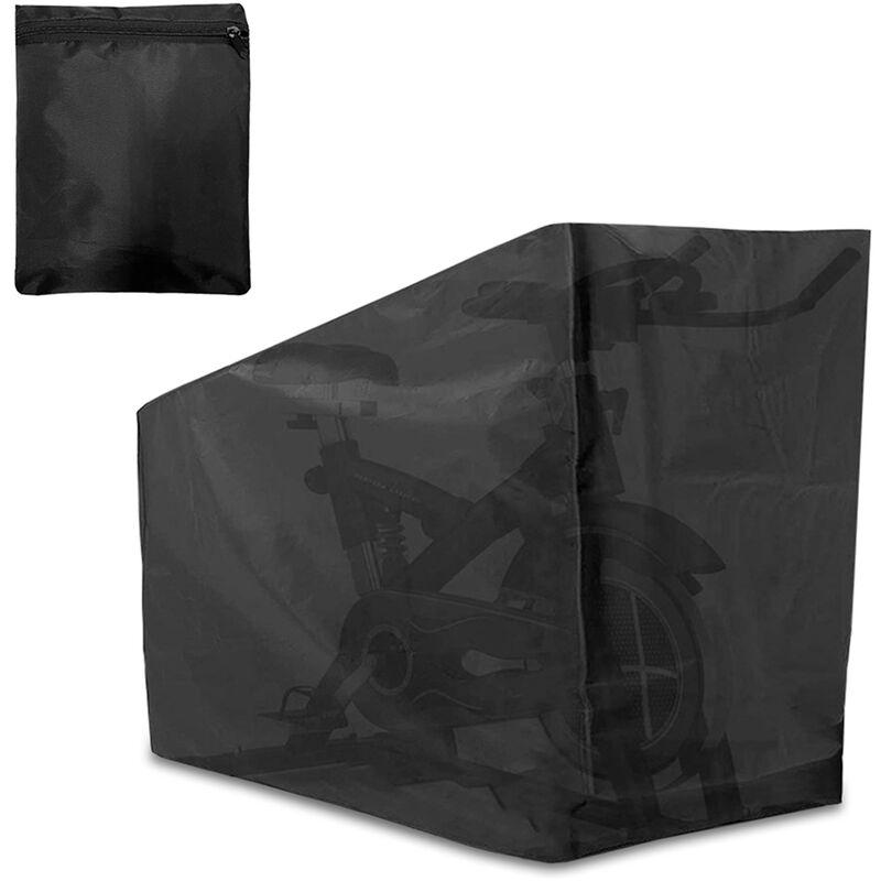 HAPPYSHOPPING Housse de velo d'exercice Housse de protection de velo pliante Housse etanche a la poussiere Parfaite pour une utilisation en interieur ou en