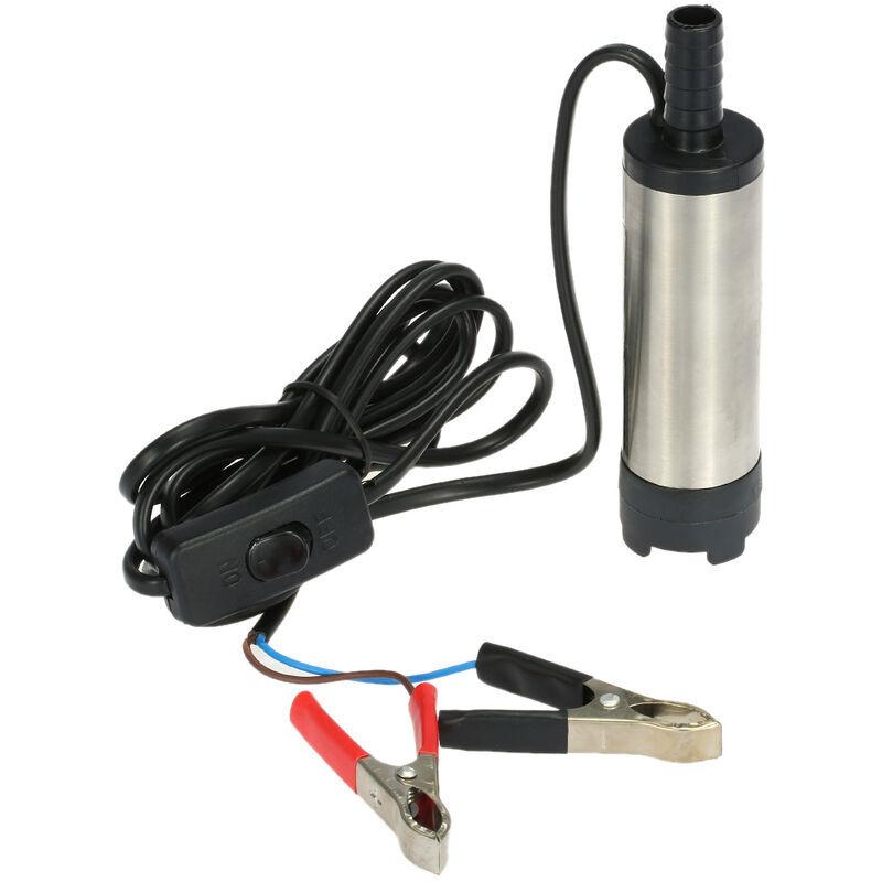 Happyshopping - Huile Liquide Diesel Carburant Pompe a Eau Pompe De Transfert 12V Eau Huile Fluide Ravitaillement, modele: 42