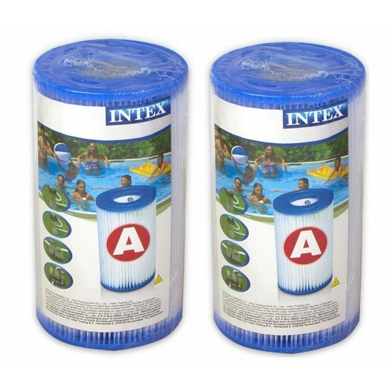 Intex Pack de 2 cartouches de filtration type A - Intex - Livraison gratuite