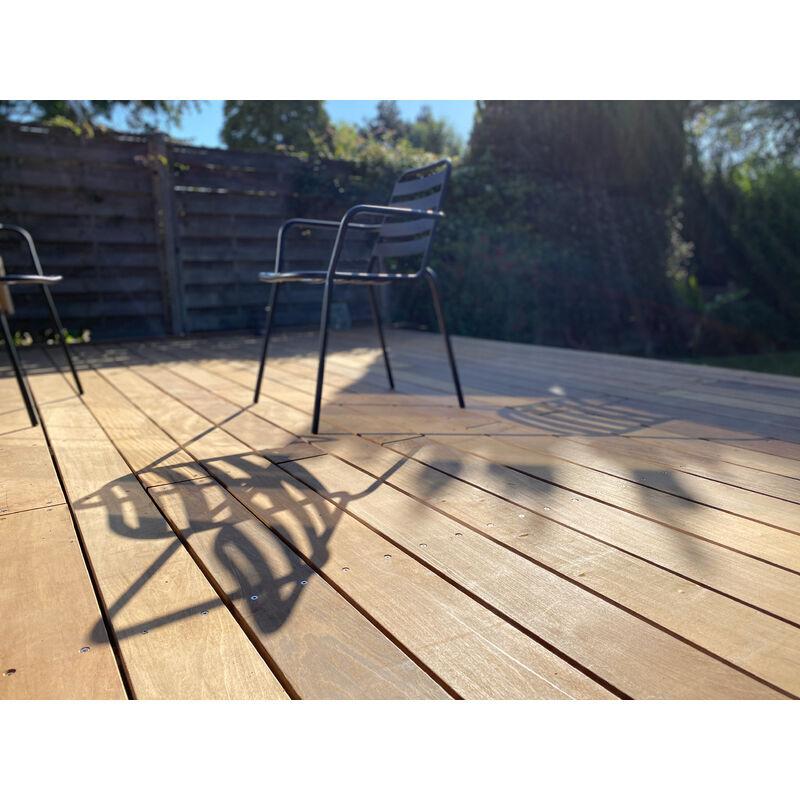 DOXWOOD KIT COMPLET   80m2 Terrasse Bois Exotique Ipe (compris Lambourdes, Visseries Et Livraison Sur Rendez-vous)