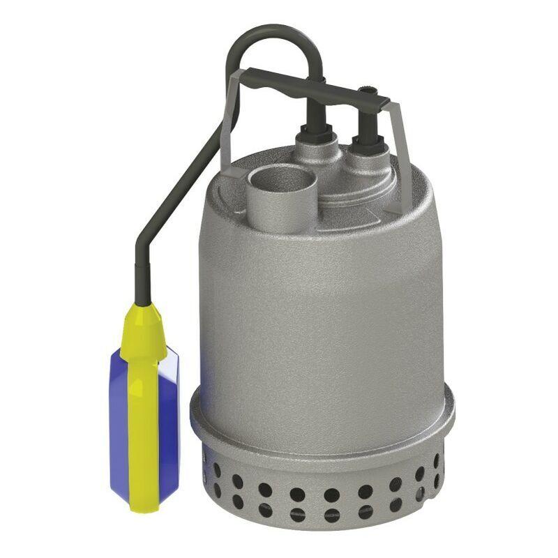 SFA SANIBROY la pompe Sanisub Steel Kit d'urgence est un ensemble complet, prêt à l'emploi