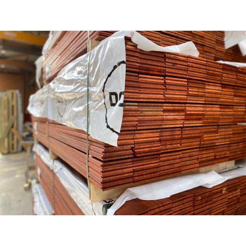 DOXWOOD LAMES   80m2 Terrasse Bois Exotique Padouk (compris Livraison Sur Rendez-vous)
