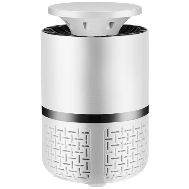 ASUPERMALL Lampe Anti-Moustique, Blanc