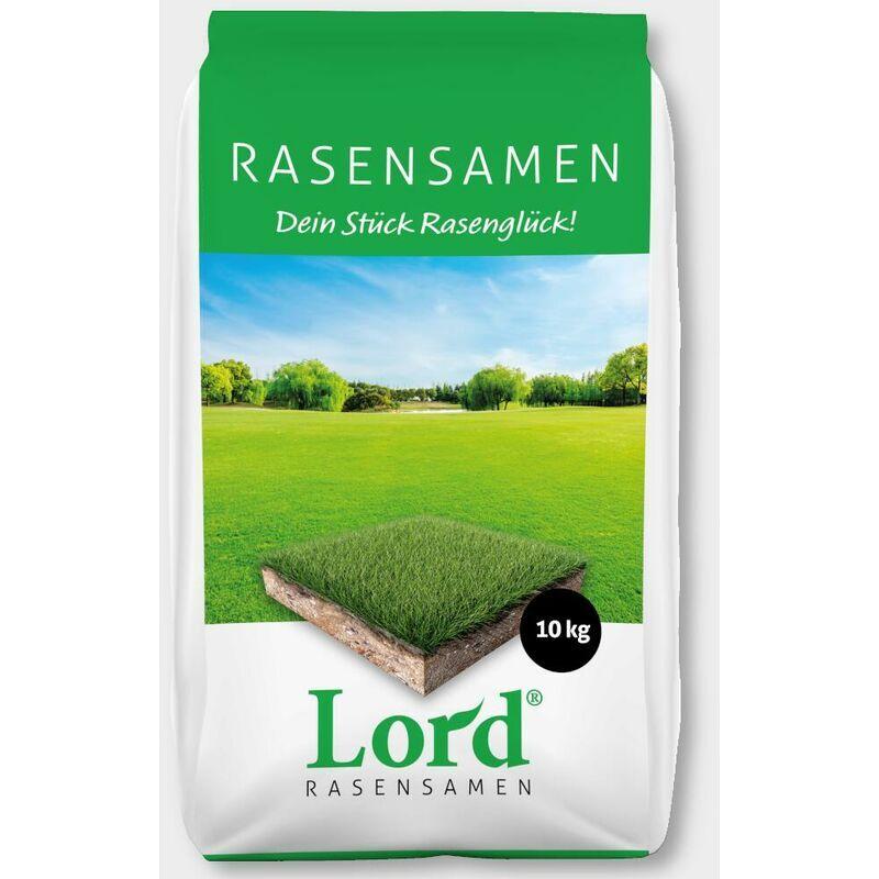 RUDLOFF LORD graines de gazon pelouse de luxe 10 kg graines d'herbe, gazon fin, gazon sportif, gazon de jeu, semences