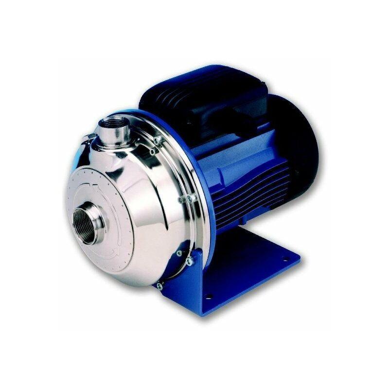 LOWARA Pompe centrifuge gros débit et basse pression CEA370/2N en INOX à usage alimentaire pompe de transfert vin bière lait Triphasé 1,5kW - Lowara