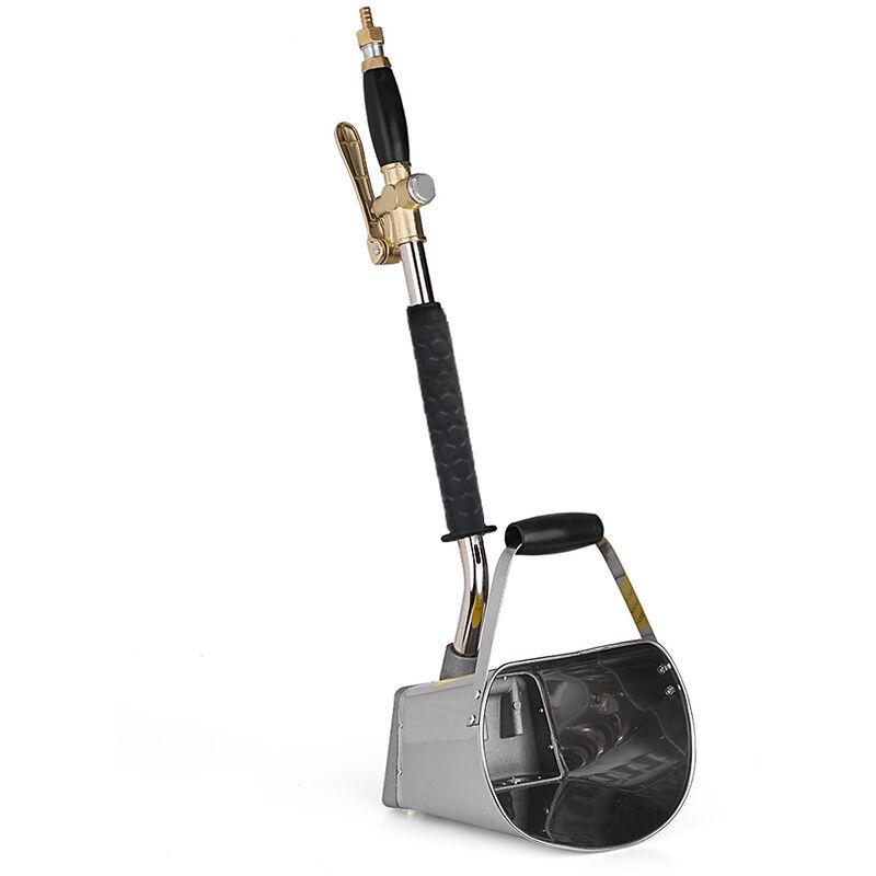 ASUPERMALL Mur Professionnel Mortier Pulverisateur Machine Stuc Pelle Tremie Louche Ciment Machine De Pulverisation D'Air Stuc Pulverisateur Platre Machines