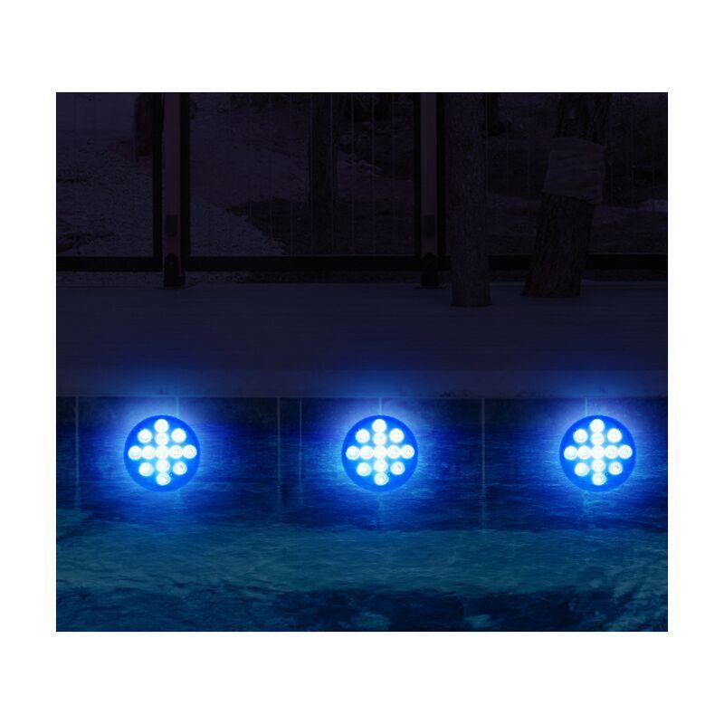 THSINDE Nouveau produit led télécommande lumière de plongée/13 lumières grande ventouse piscine lumière étanche aquarium lumière sous-marine lumière L