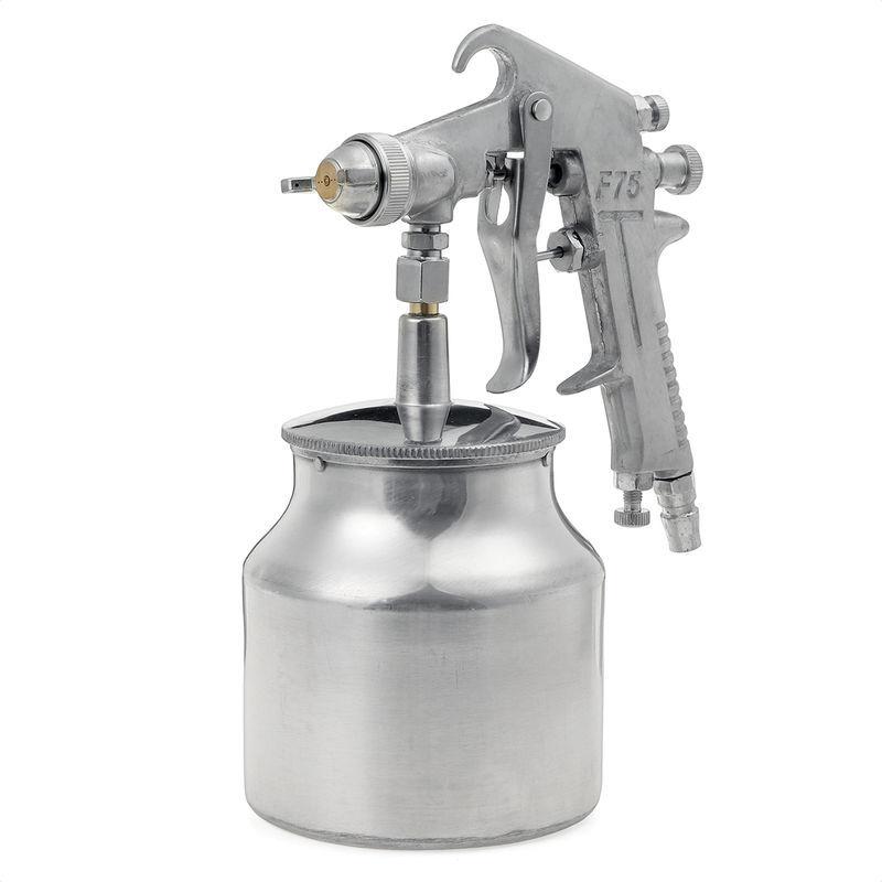 ZEBRAA Outil de bricolage professionnel de pulvérisateur de camion de voiture de pulvérisation de peinture de compresseur d'air