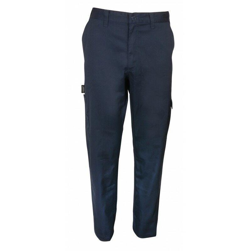MANU FRANCE® PRODUITS DU MONDE Pantalon de travail Manufrance M Bleu - Bleu