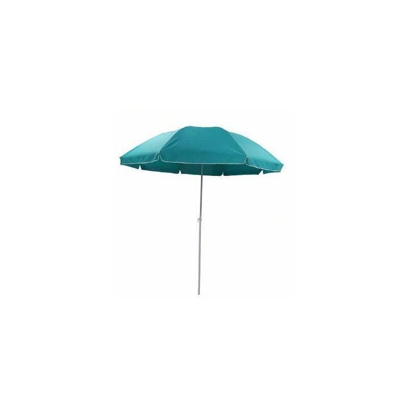 AC-DÉCO Parasol - Ardea - D 220 cm x H 223 cm - Turquoise - Livraison gratuite