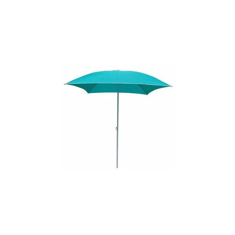 AC-DÉCO Parasol carré - 172 x 172 x H 239 cm - Bleu - Livraison gratuite