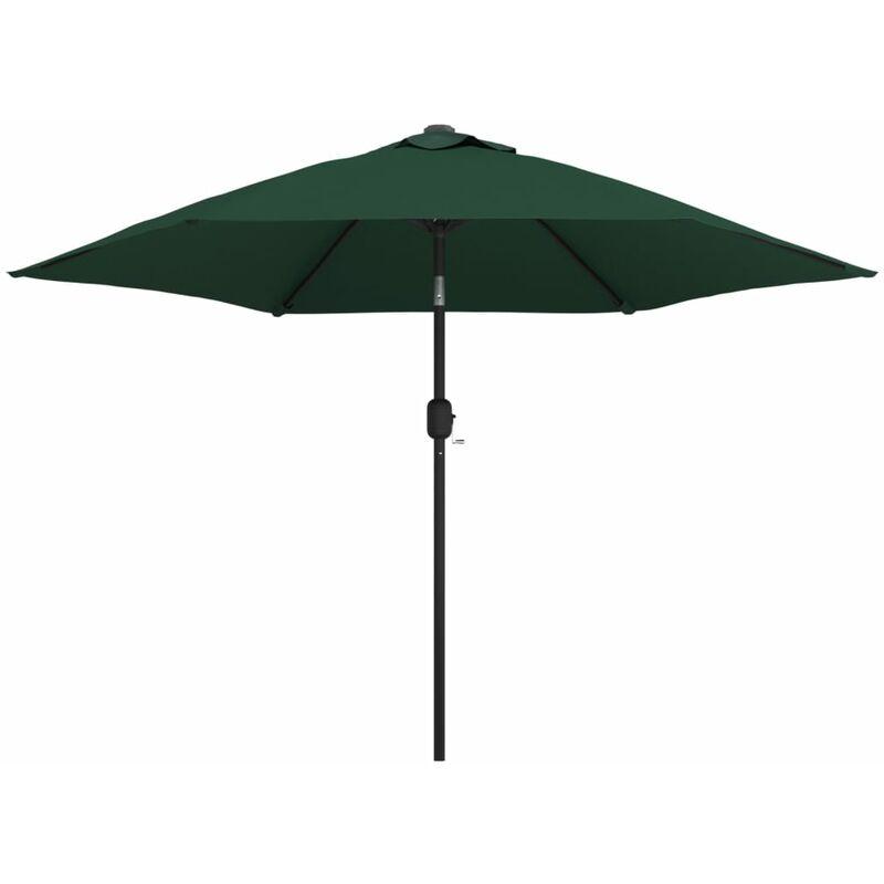 TRUE DEAL Parasol en porte-à-faux 3 m Vert
