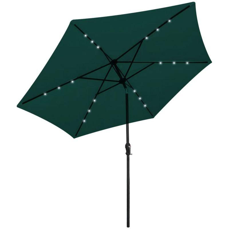 Asupermall - Parasol en porte-a-faux 3 m Vert