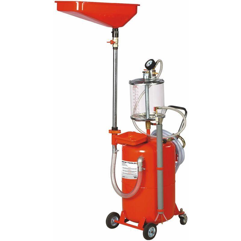MW-TOOLS récupérateur et aspirateur d'huile pneum. 65lt. MW-Tools ODC65