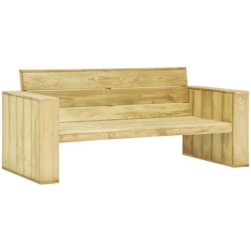 ROGAL banc de jardin 179 cm bois de pin imprégné - Rogal