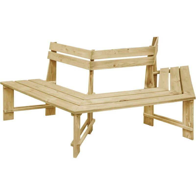ROGAL banc de jardin 240 cm bois de pin imprégné - Rogal