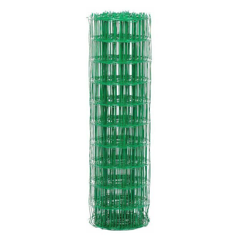Yousteel - Rouleau de grillage soudé Vert 6005 - 20ml x 1200mm