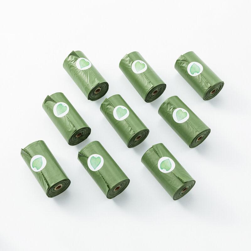 THSINDE Sac poubelle biodégradable 300 pièces, petit sac poubelle (sac poubelle poubelle sac poubelle sac de recyclage) sac poubelle épais et dégradable