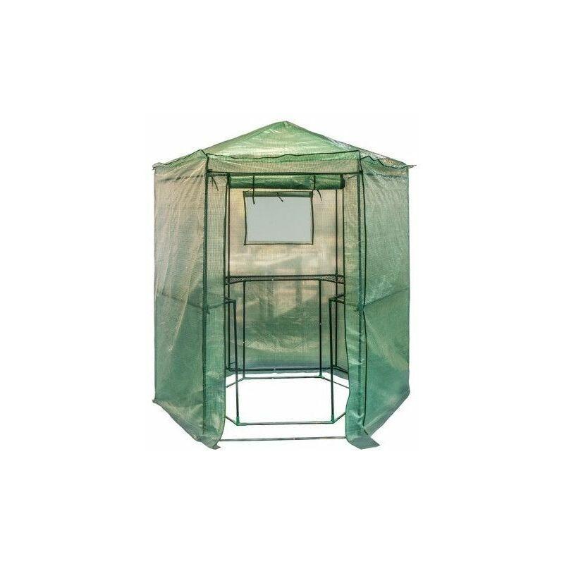 AC-DÉCO Serre hexagonale pour potager ou jardin - Livraison gratuite