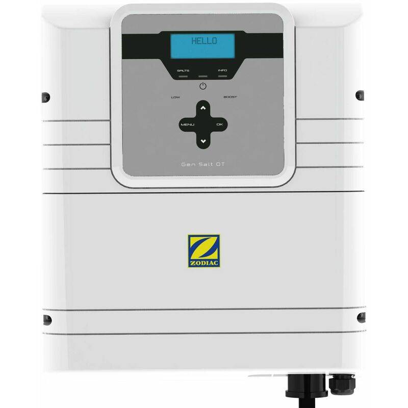 Zodiac electrolyseur au sel 40m3 - gensalt ot 10 - Zodiac