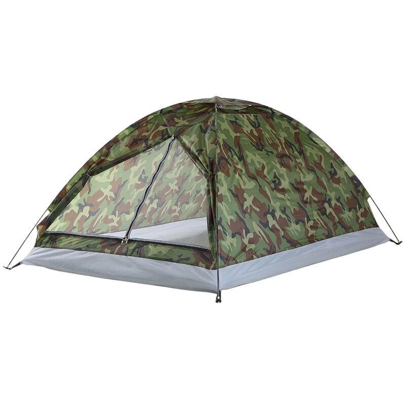 TOMSHOO Tente, TOMSHOO double tente de camouflage simple couche exterieure double tente