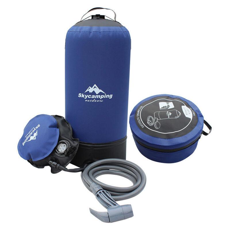 Triomphe Sac de douche portable sac de bain d'alpinisme en plein air temporaire portable camping sac de lavage de voiture mobile sac de stockage d'eau