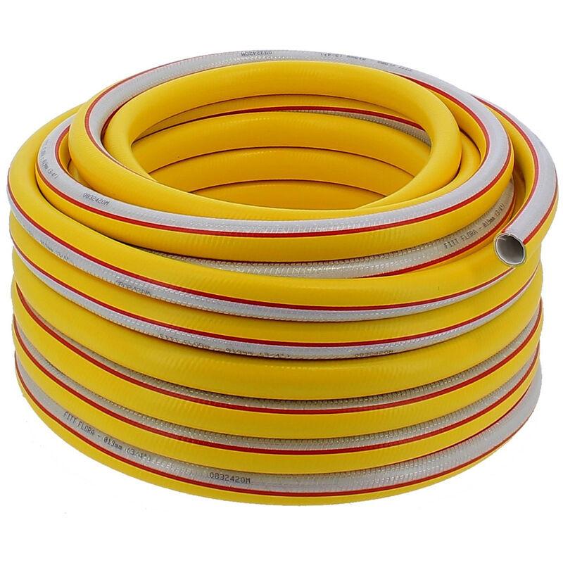 HUGGY TUYAUX Tuyau d'arrosage 5 couches Ø 25 mm (1 pouce) - Longueur 50 mètres