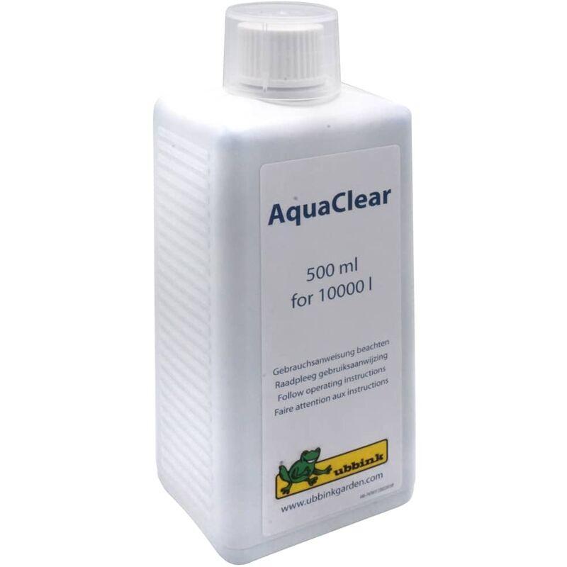 UBBINK Traitement anti-algues d'étang BioBalance Aqua Clear 500 ml - Ubbink
